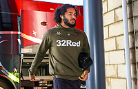 Leeds United's Izzy Brown arrives at the Riverside Stadium<br /> <br /> Photographer Alex Dodd/CameraSport<br /> <br /> The EFL Sky Bet Championship - Middlesbrough v Leeds United - Saturday 9th February 2019 - Riverside Stadium - Middlesbrough<br /> <br /> World Copyright © 2019 CameraSport. All rights reserved. 43 Linden Ave. Countesthorpe. Leicester. England. LE8 5PG - Tel: +44 (0) 116 277 4147 - admin@camerasport.com - www.camerasport.com