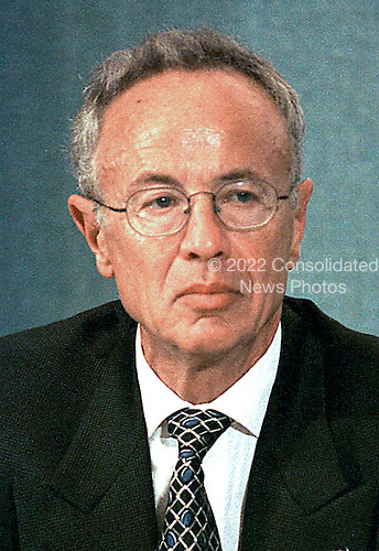 """Andrew S. """"Andy"""" Grove, Chairman and CEO, Intel Corporation, appears in Washington, D.C on June 4, 1997..Credit: Ron Sachs / CNP"""