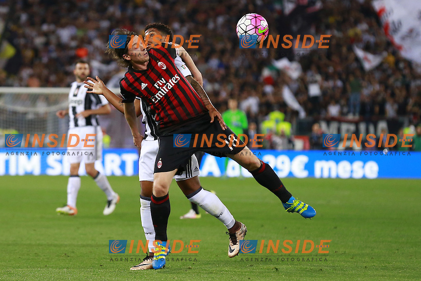 Riccardo Montolivo Milan,  <br /> Roma 21-05-2016 Stadio Olimpico.<br /> Football Calcio Finale Coppa Italia / Italy's Cup Final 2015/2016. Milan - Juventus<br /> Foto Cesare Purini / Insidefoto