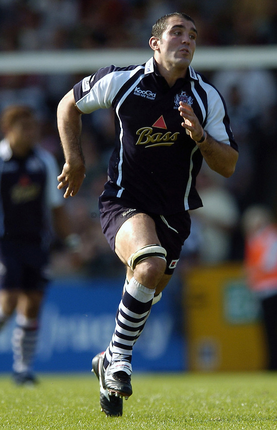 Photo: Jonathan Butler..Bristol Rugby v Saracens. Guinness Premiership. 10/09/2006..Joe El Abd of Bristol.