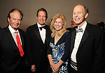 From left: Welcome Wilson, Welcome Wilson Jr., Eloise Stuhr and Steve Brice at Celebrating 40 Years: University of Houston- Downtown Gala at the JW Marriott Downtown Friday Jan. 23,2015.(Dave Rossman For the Chronicle)