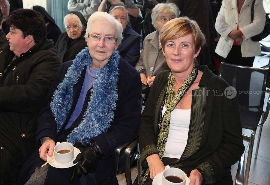 ***NO FEE PIC***.15/11/2010.(L to r) .Sister Eileen Byrne from the Convent of Mary Booterstown .Maureen Benson from Our Lady of Mercy School Booterstown.at the launch of Children's Hope.TV at The Media Cube, IADT,Dun Laoghaire, Co. Dublin..The Irish children's Charity Children's Hope has developed an online educational resource for young people & youth workers, a website caleed www.childrens-hope.tv..The websitte features short curriculm-adhering educational programmes available to be played by young people in after-school projects geared to Youth & Comunity Leaders..Photo: Gareth Chaney Collins