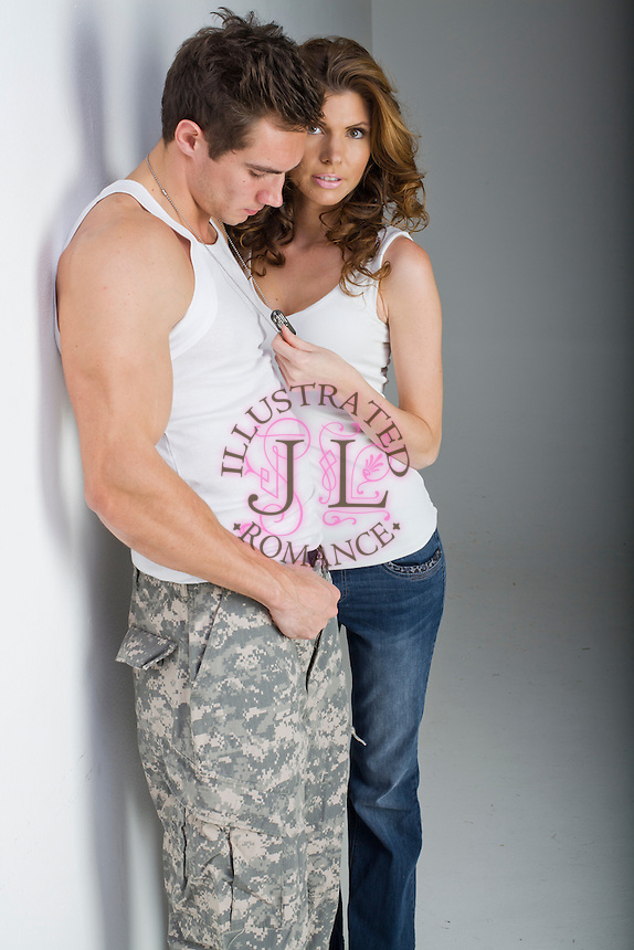 Contemporary military stock photograph for romance novel covers by Jenn LeBlanc and Studio Smexy