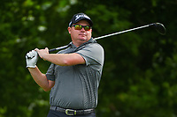 Ted Potter, Jr. (USA) watches his tee shot on 6 during round 2 of the 2019 Charles Schwab Challenge, Colonial Country Club, Ft. Worth, Texas,  USA. 5/24/2019.<br /> Picture: Golffile   Ken Murray<br /> <br /> All photo usage must carry mandatory copyright credit (© Golffile   Ken Murray)