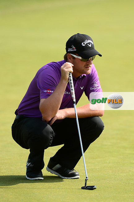 Marc Warren of Scotland during Round 2 of the Lyoness Open, Diamond Country Club, Atzenbrugg, Austria. 10/06/2016<br /> Picture: Richard Martin-Roberts / Golffile<br /> <br /> All photos usage must carry mandatory copyright credit (&copy; Golffile | Richard Martin- Roberts)