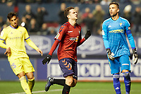 Juan Villar (forward; CA Osasuna) during the Spanish football of La Liga 123, match between CA Osasuna and AD Alcorcón at the Sadar stadium, in Pamplona (Navarra), Spain, on Sunday, January 6, 2019.