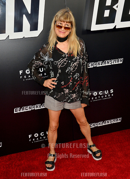 "Catherine Hardwicke at the Los Angeles premiere of ""BlacKkKlansman"" at the Academy's Samuel Goldwyn Theatre, Beverly Hills, USA 08 Aug. 2018<br /> Picture: Paul Smith/Featureflash/SilverHub 0208 004 5359 sales@silverhubmedia.com"