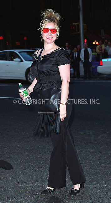 Caroline Rhea goes to see Robin Williams live show on Broadway at the Broadway Theater in New York, July 14, 2002. Please byline: Alecsey Boldeskul/NY Photo Press.   ..*PAY-PER-USE*      ....NY Photo Press:  ..phone (646) 267-6913;   ..e-mail: info@nyphotopress.com