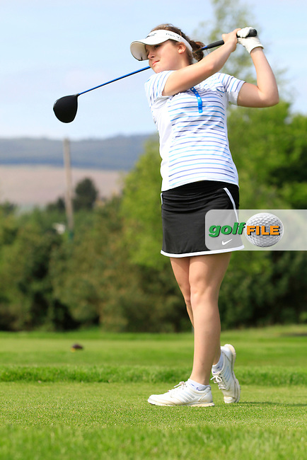Megan Jenkins (ENG) on the 7th tee during Round 1 of the Irish Women's Open Strokeplay Championship at Dun Laoghaire Golf Club on Saturday 23rd May 2015.<br /> Picture:  TJ Caffrey / www.golffile.ie