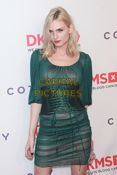 NEW YORK, NY - APRIL 27: Andrea Pejic at DKMS Annual &quot;Big Love&quot; Gala at Citpiani Wall Street on April 27, 2017 in New York City. <br /> CAP/MPI99<br /> &copy;MPI99/Capital Pictures