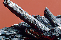 STIBNITE; ORE OF ANTIMONY<br /> antimony sulfide (Sb2S3)<br /> Stibnite is the most important source for the rare metal antimony