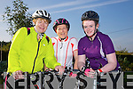 Eleanor Kerin, Trish Healy, Ella Kerin enjoying the 8th Annual Castleisland Rugby Club Cycle in aid of the Castleisland Day Care Centre on Sunday
