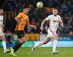 Jack O'Connell of Sheffield Utd during the Premier League match at Molineux, Wolverhampton. Picture date: 1st December 2019. Picture credit should read: Simon Bellis/Sportimage