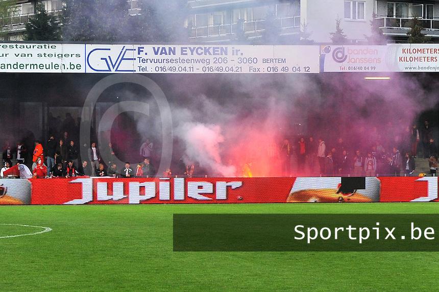 Bekerfinale 2012 : WD Lierse SK - Standard Femina :.vreugde bij standard en supporters na de bekerwinst.foto David Catry / Joke Vuylsteke / Vrouwenteam.be