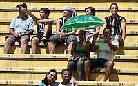 SAO PAULO, SP, 29 DE JANEIRO 2012 - CAMP. PAULISTA - CORINTHIANS X LINENSE - Torcedor do Corinthians, e visto antes da partida contra o Linense, válida pela 3ª rodada do Campeonato Paulista, no Estádio Paulo Machado de Carvalho (Pacaembu), em São Paulo, neste domingo (29). (FOTO: VANESSA CARVALHO - NEWS FREE).