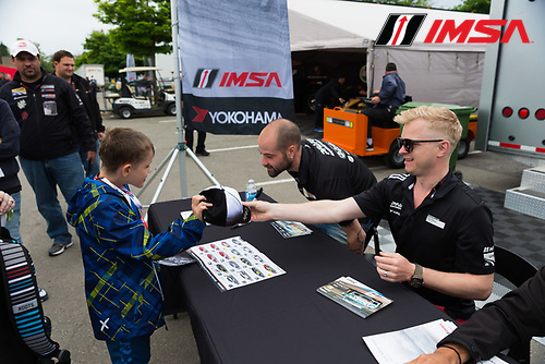 10-12 June 2016, Montreal, Quebec Canada<br /> Autograph Session<br /> &copy;2016, Jordan Lenssen for Jake Galstad<br /> LAT Photo USA
