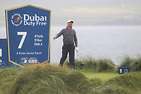 Padraig Harrington (IRL) on the 7th tee during Round 2 of the Irish Open at LaHinch Golf Club, LaHinch, Co. Clare on Friday 5th July 2019.<br /> Picture:  Thos Caffrey / Golffile<br /> <br /> All photos usage must carry mandatory copyright credit (© Golffile | Thos Caffrey)