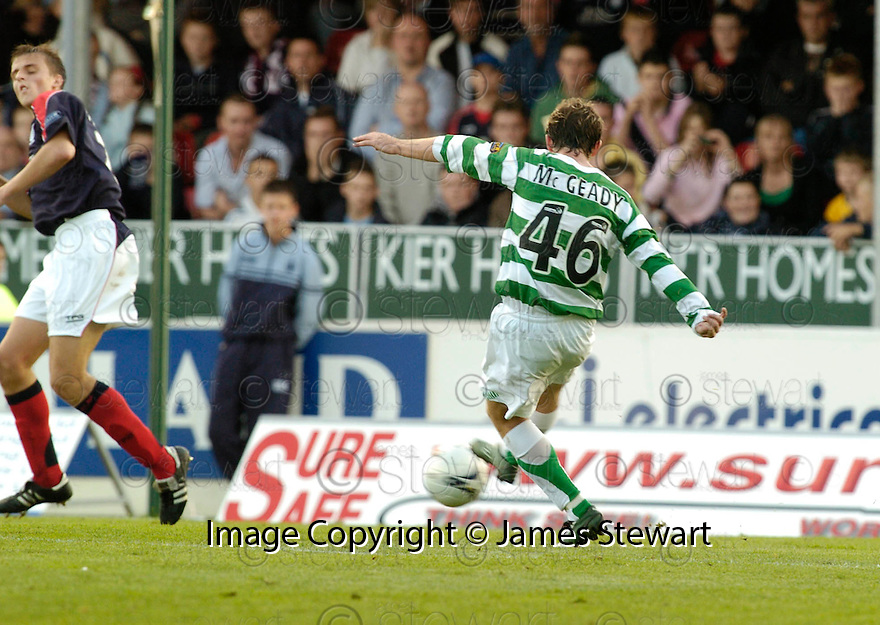 01/10/2006       Copyright Pic: James Stewart.File Name :sct_jspa01_falkirk_v_celtic.AIDEN MCGEADY SCORES CELTICS WINNER.....Payments to :.James Stewart Photo Agency 19 Carronlea Drive, Falkirk. FK2 8DN      Vat Reg No. 607 6932 25.Office     : +44 (0)1324 570906     .Mobile   : +44 (0)7721 416997.Fax         : +44 (0)1324 570906.E-mail  :  jim@jspa.co.uk.If you require further information then contact Jim Stewart on any of the numbers above.........