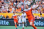 Den Bosch  - Mirco Pruijser (Ned) heeft gescoord   tijdens   de Pro League hockeywedstrijd heren, Nederland-Belgie (4-3).    COPYRIGHT KOEN SUYK