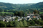 Hay-on-Wye nestled in the lush River Wye valley