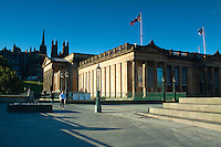 The National Gallery of Scotland, Princes Street Gardens, Edinburgh