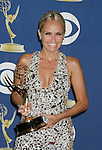 LOS ANGELES, CA. - September 20: Kristin Chenoweth poses in the press room at the 61st Primetime Emmy Awards held at the Nokia Theatre on September 20, 2009 in Los Angeles, California.