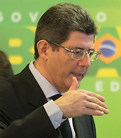 BRASILIA, DF, 02.10.2015 - LEVY-REFORMA -  O ministro da Fazenda, Joaquim Levy, durante declara&ccedil;&atilde;o sobre a  reforma administrativa do<br />