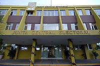 Fachada de la Junta Central Electoral.Foto:Carmen Suárez/acento.com.do.Fecha:02/11/2011.