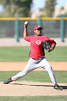 Ramon Geronimo, Cincinnati Reds 2010 minor league spring training..Photo by:  Bill Mitchell/Four Seam Images.