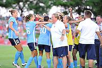 Boyds, MD - Saturday June 25, 2016: Sky Blue FC, Samantha Kerr goal  during a United States National Women's Soccer League (NWSL) match between the Washington Spirit and Sky Blue FC at Maureen Hendricks Field, Maryland SoccerPlex.