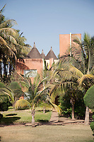 A hotel in the capital city of Bamako in Mali