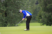 Sean Poucher (Limerick) on the 2nd during round 1 of The Mullingar Scratch Cup in Mullingar Golf Club on Sunday 3rd August 2014.<br /> Picture:  Thos Caffrey / www.golffile.ie