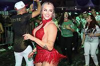 SÃO PAULO, SP, 01.12.2018 – CARNAVAL-SP – Juju Salimeni durante evento da Liga das Escolas de Samba de SP, que comemora dia Nacional do Samba com o lançamento do CD de Sambas de Enredo do Carnaval 2019, a escola de samba X9 Paulistana, durante apresentação pelo Grupo Especial, na Fábrica do Samba em São Paulo na noite deste sábado, 01 (Foto: Nelson Gariba/Brazil Photo Press)