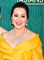 HOLLYWOOD, CA - AUGUST 07: Kris Aquino arrives at the Warner Bros. Pictures' 'Crazy Rich Asians' premiere at the TCL Chinese Theatre IMAX on August 7, 2018 in Hollywood, California.<br /> CAP/ROT/TM<br /> &copy;TM/ROT/Capital Pictures