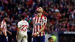 Atletico de Madrid's Yannick Carrasco reacts during La Liga match. Mar 07, 2020. (ALTERPHOTOS/Manu R.B.)