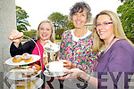 Pictured launching the Killarney Rotary Afternnon tea which will be held in The Malton hotel, Killarney on Saturday 1st Octoober in aid of the Southwest Counselling Centre, Killarney were Eve Kelliher, Grace O'Neill and Ciara Irwin Foley.