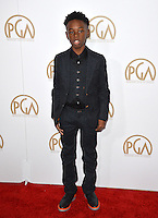 Alex R. Hibbert at the 2017 Producers Guild Awards at The Beverly Hilton Hotel, Beverly Hills, USA 28th January  2017<br /> Picture: Paul Smith/Featureflash/SilverHub 0208 004 5359 sales@silverhubmedia.com