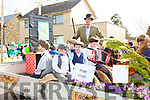 Pupils from Shrone NS Hedge school at the Rathmore St Patricks parade on Sunday