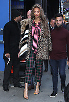 NEW YORK, NY- November 29: Tyra Banks seen at Good Morning America promoting her new movie Life-Size 2: A Christmas Eve on November 29, 2018 in New York City. Credit: RW/MediaPunch