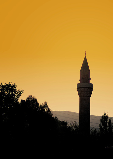 Muslim morning call to prayer in Turkey