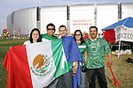 7 February 2007: Unidentified Mexico fans wait outside the University of Phoenix Stadium for the gates to open, pregame. The United States National Team defeated Mexico 2-0 at University of Phoenix Stadium in Glendale, Arizona in an International Friendly soccer match.