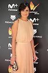Elena Sanchez attends to the Feroz Awards 2017 in Madrid, Spain. January 23, 2017. (ALTERPHOTOS/BorjaB.Hojas)