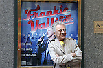 Frankie Valli unveiling the Theatre Marquee for 'Frankie Valli and The Four Seasons on Broadway' celebrating the group's 50th Anniversary with their first ever concert at the Broadway Theatre in New York City on 8/30/2012 © Walter McBride/WM Photography /
