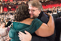Oscar&reg; winners Octavia Spencer and Guillermo del Toro during The 90th Oscars&reg; at the Dolby&reg; Theatre in Hollywood, CA on Sunday, March 4, 2018.<br /> *Editorial Use Only*<br /> CAP/PLF/AMPAS<br /> Supplied by Capital Pictures