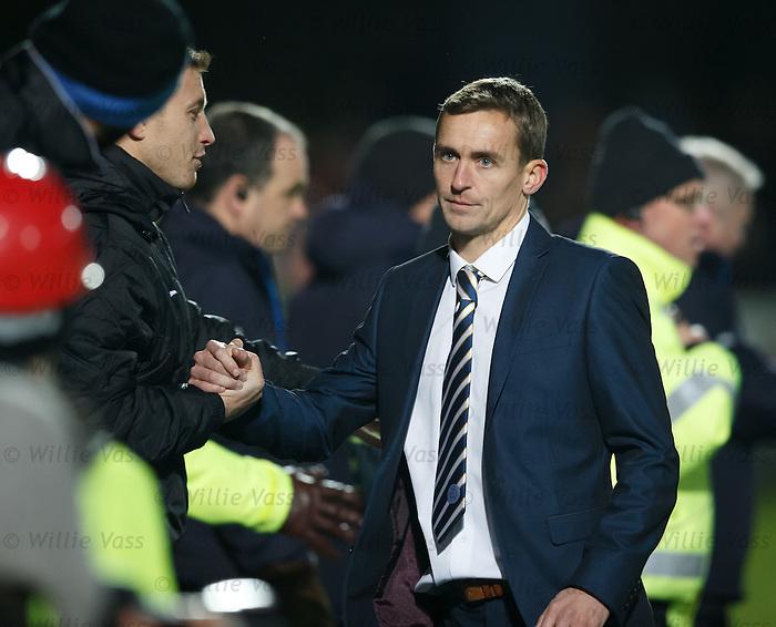 QoS manager James Fowler after defeating Rangers