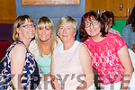 Noreen o'mahony, Marguerite Egan, and Annette O'Donoghue having a great night  at the Castleisland Strictly Come Dancing in the River Island Hotel on Friday night