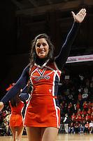 Virginia Cavaliers cheerlaeds during the game against Florida State Jan. 29, 2012 in Charlottesville, Va.  Virginia defeated Florida State 62-52.