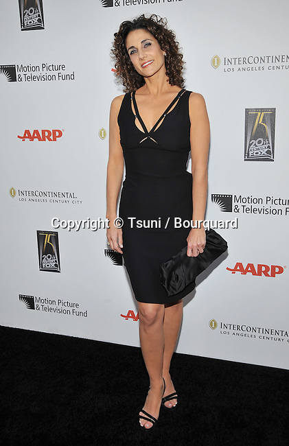 Melina Kanakaredes _16   -<br /> A Fine Romance - 2010 To benefit the Motion Picture &amp; Television Fund on the Fox Lot in Los Angeles.