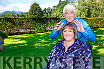 Healer Matthew Lennon with Aisling Ferris Tralee
