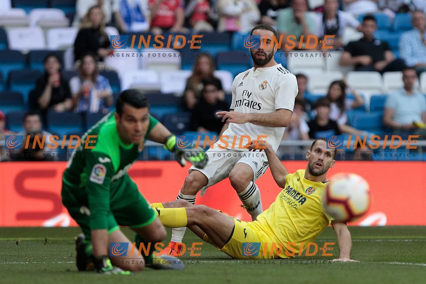 Real Madrid's Dani Carvajal during La Liga match between Real Madrid and Villarreal CF at Santiago Bernabeu Stadium in Madrid, Spain. May 05, 2019. (ALTERPHOTOS/A. Perez Meca)<br /> Liga Campionato Spagna 2018/2019<br /> Foto Alterphotos / Insidefoto <br /> ITALY ONLY